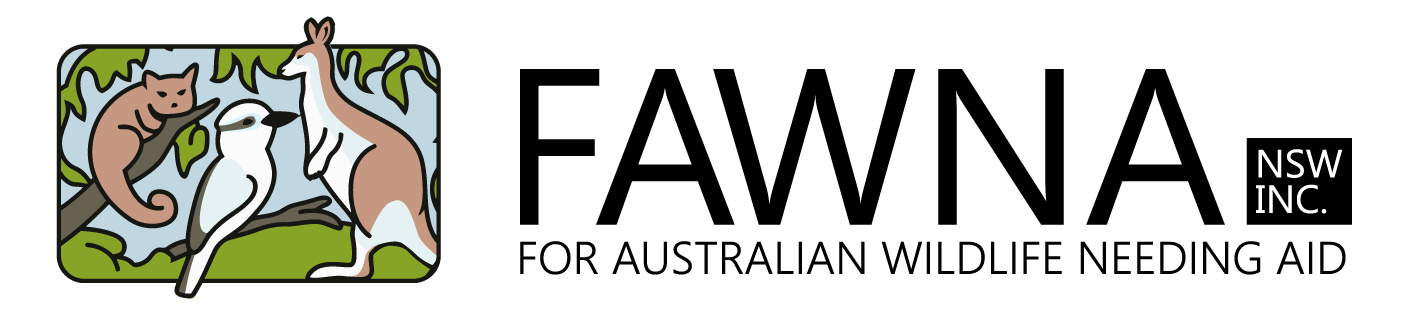 FAWNA NSW Inc Logo link to frontpage.